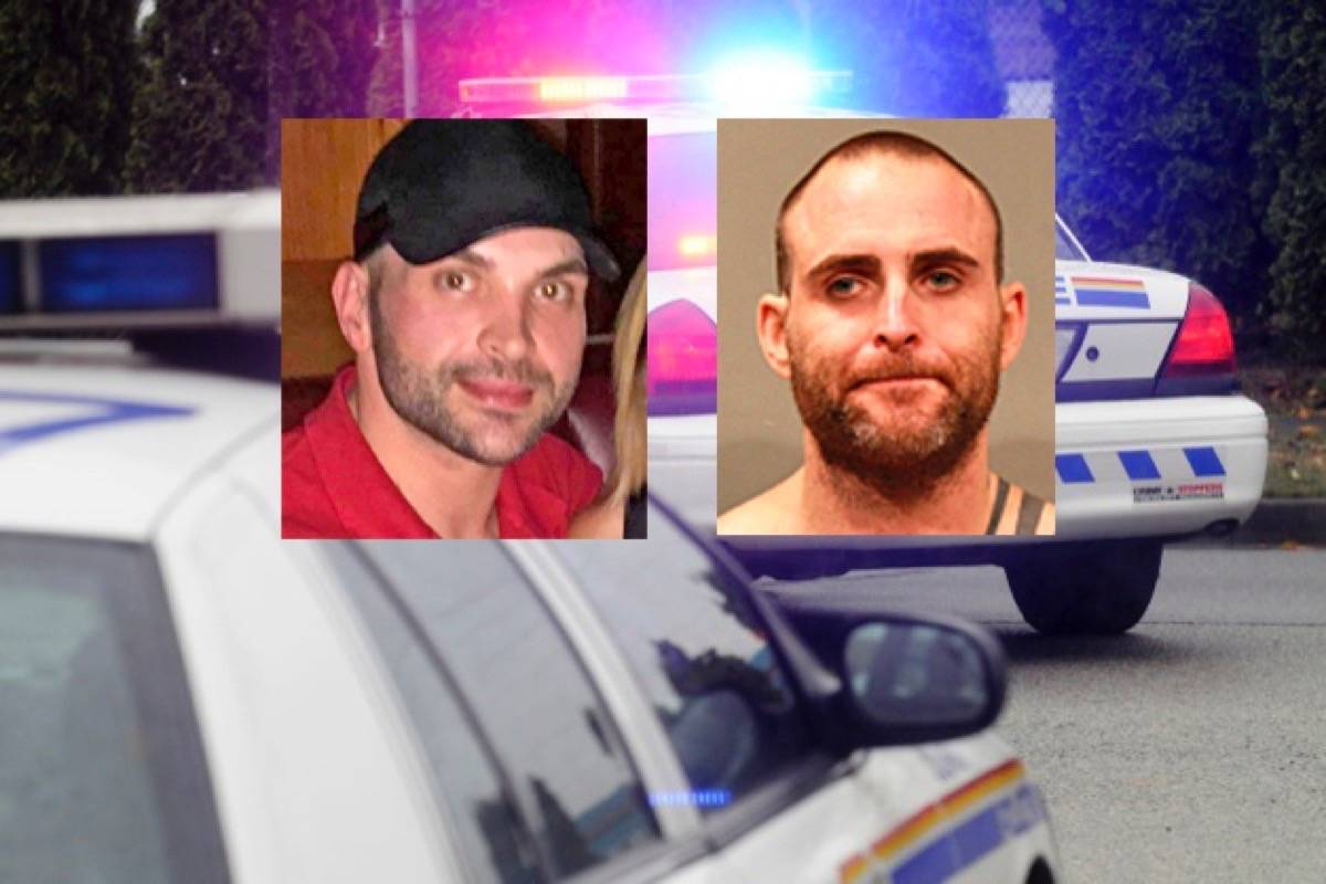 Surrey RCMP say friends Richard Scurr (left) and Ryan Provencher were last seen in South Surrey on July 17. (Contributed photos/file photo)