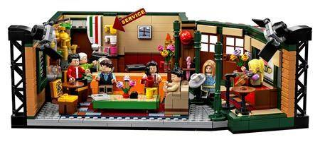 "The LEGO Ideas ""Friends"" brick set marks the 25th anniversary of the iconic sitcom. (LEGO via AP)"