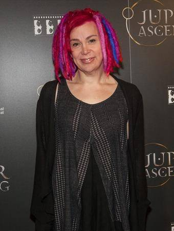 """In this Feb. 4, 2014 file photo, Lana Wachowski attends the Chicago International Film Festival's screening of """"Jupiter Ascending"""" at the AMC River East theatre, in Chicago. (AP)"""