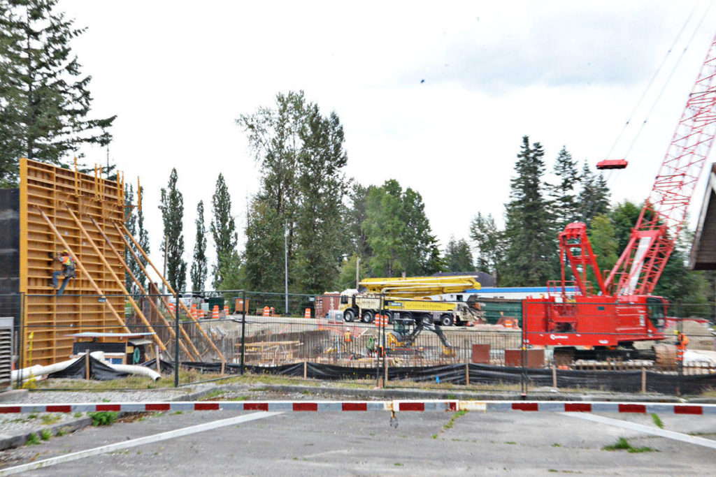 A new Jericho Water Reservoir is under construction in Willoughby, part of the Metro Vancouver water system in Langley Township. An audit of Langley's water management was recently released. (Langley Advance Times files)