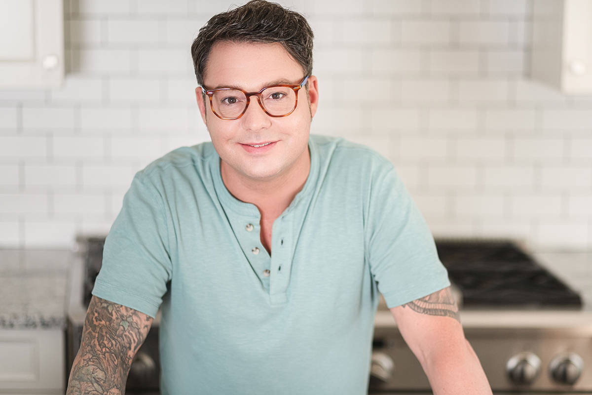 Celebrity Chef Spencer Watts will be doing live demonstrations in McBurney Plaza at this year's Fork and Finger. (Rare Affairs/Special to the Langley Advance Times)