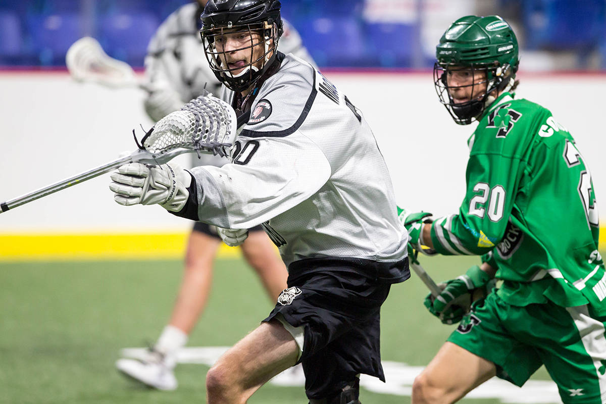 The Orangeville Northmen took the first game of the best-of-five Minto Cup finals on Wednesday, Aug. 21 at the Langley Events Centre. (Garrett James photo)