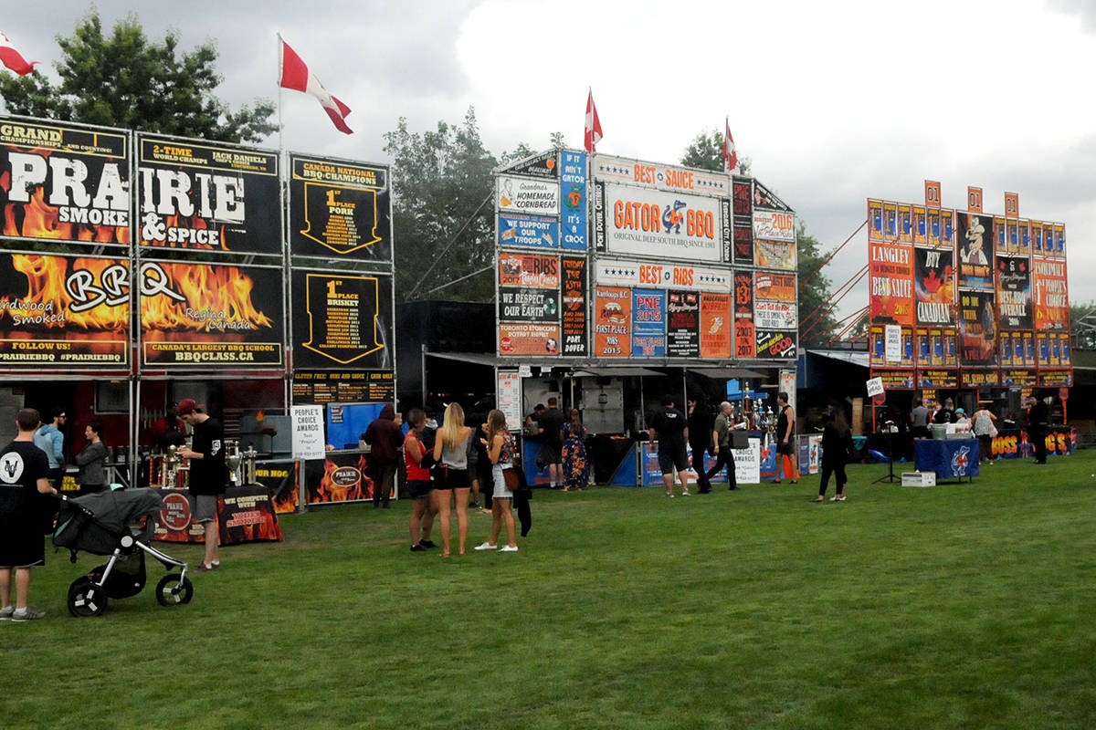 Second annual Langley RibFest has raised an estimated $100,000 through local Rotary Clubs. (Ryan Uytdewilligen/Langley Advance Times)