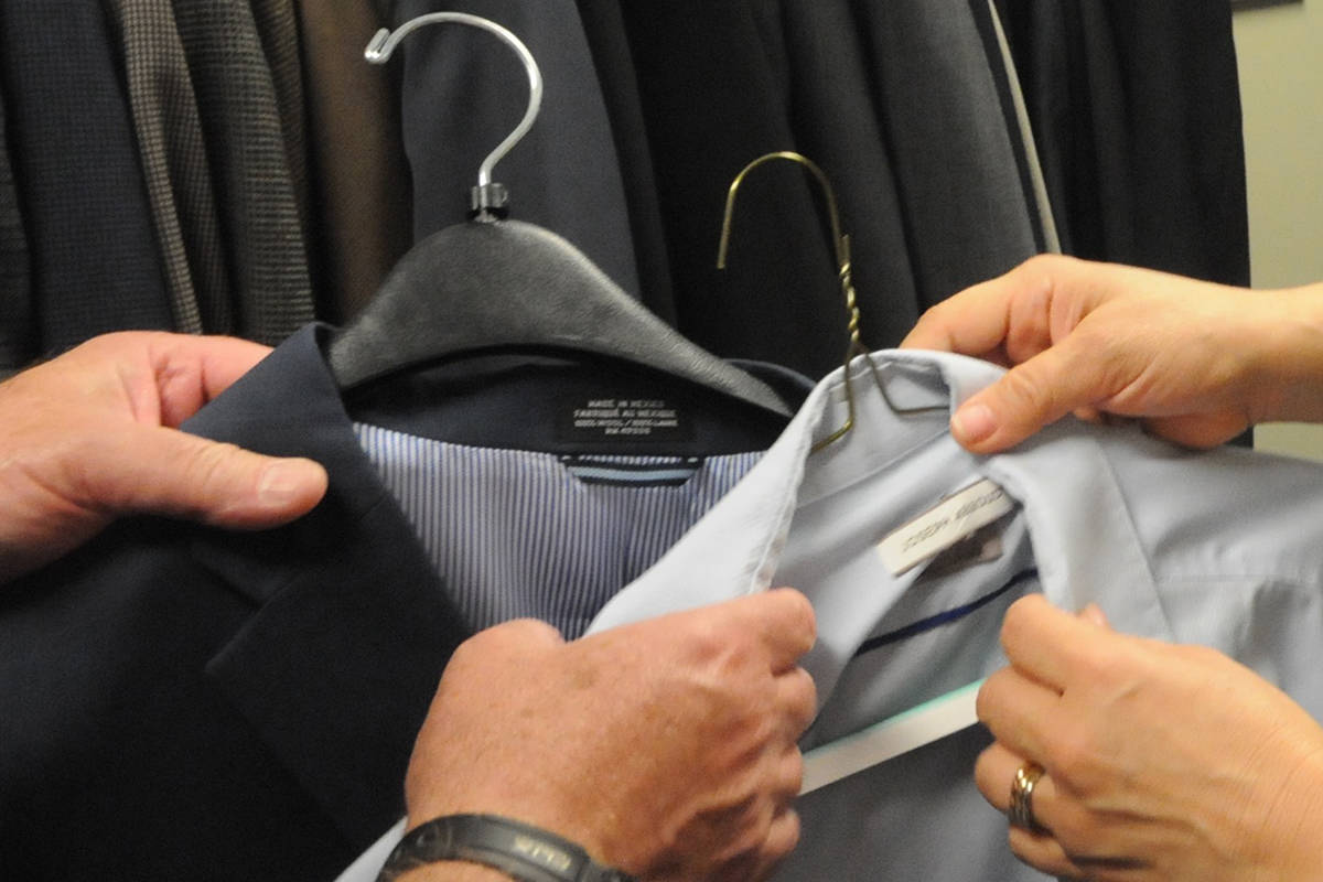 VIDEO: Try this on for size… free suits!