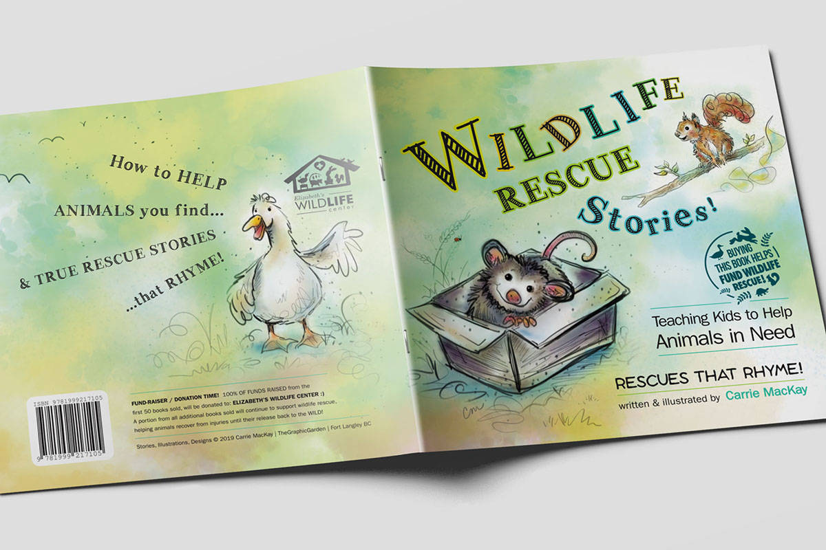 Wildlife Rescue Stories published to help rescue wildlife