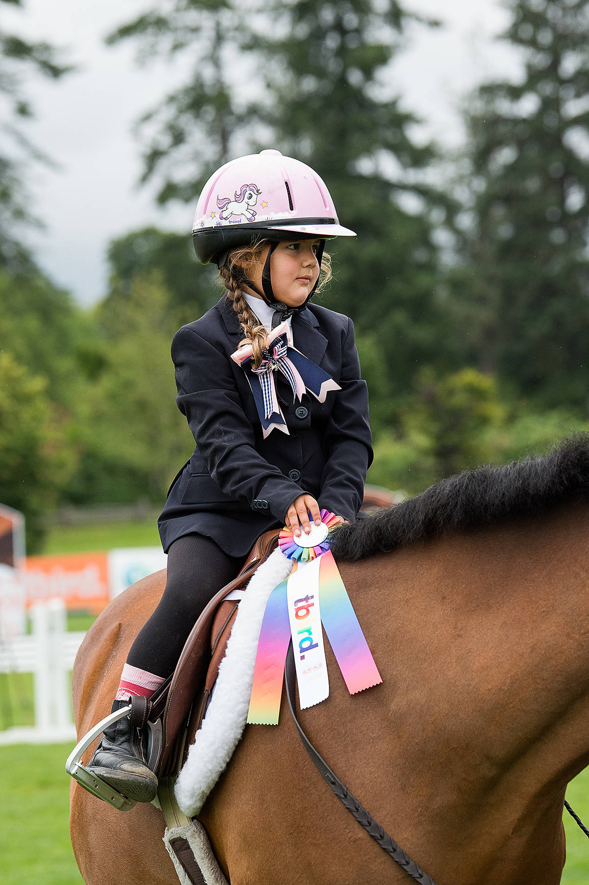 Two young kids will be pulled from the crowd and put on ponies for their first lesson. (Special to the Langley Advance Times)