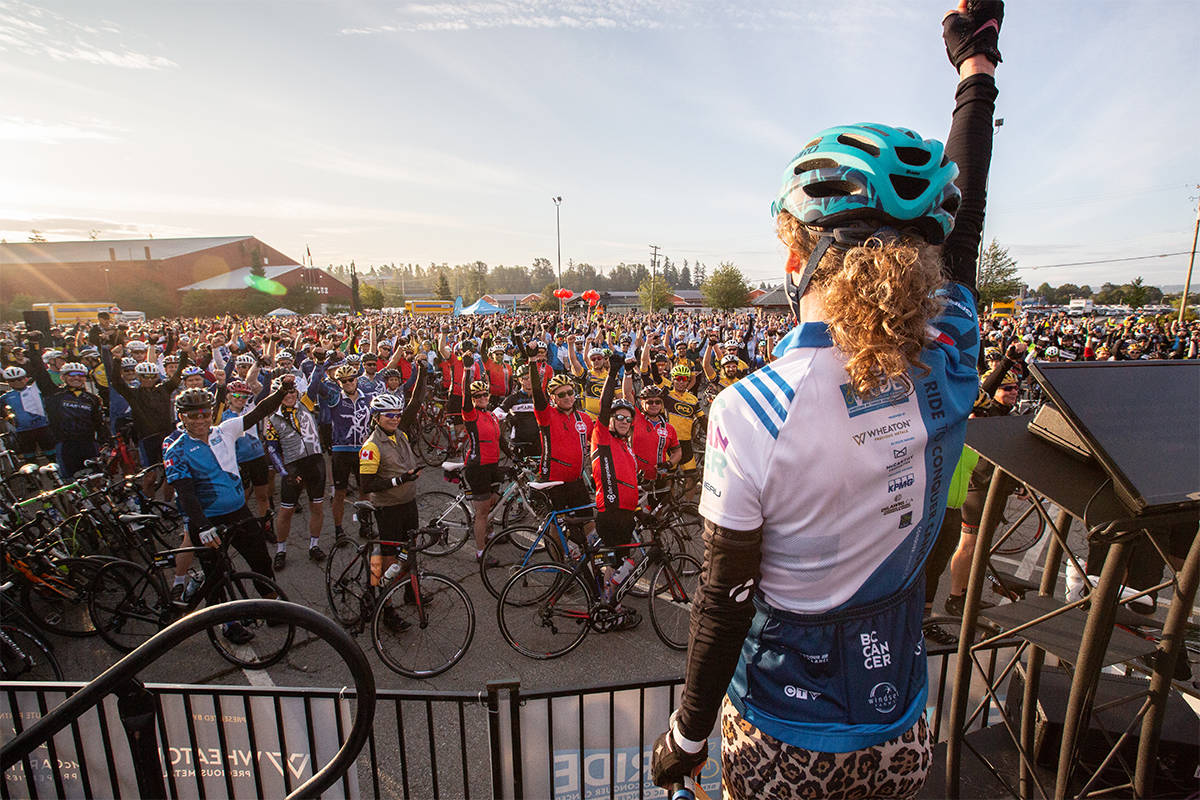 The Ride to Conquer Cancer's 11th annual event raised $9.1 million for the BC Cancer Foundation, bringing its historical total up to more than $105 million. (Submitted Photo)