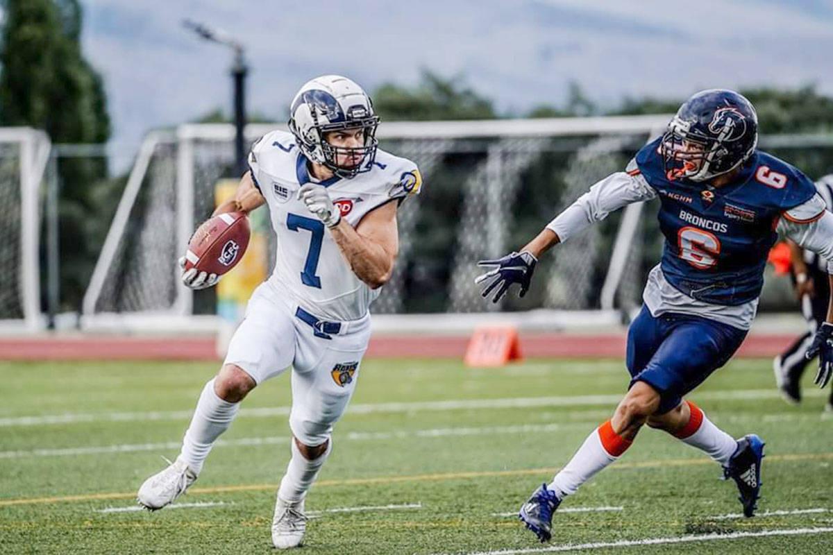 The Langley Rams recently defeated the Kamloops Broncos. (photo Jim Motokado)                                The Langley Rams defeated the Kamloops Broncos on Aug. 10. (photo Jim Motokado)