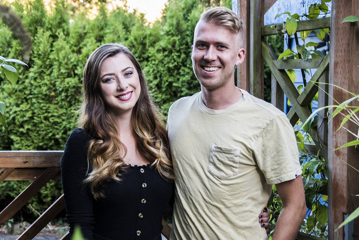 Laura Faganello, 23, and husband Brayden Faganello, 25, have had to rebuild their marriage after a brain injury caused Laura to lose most of her memories of their relationship. (Nina Grossman/News Staff)