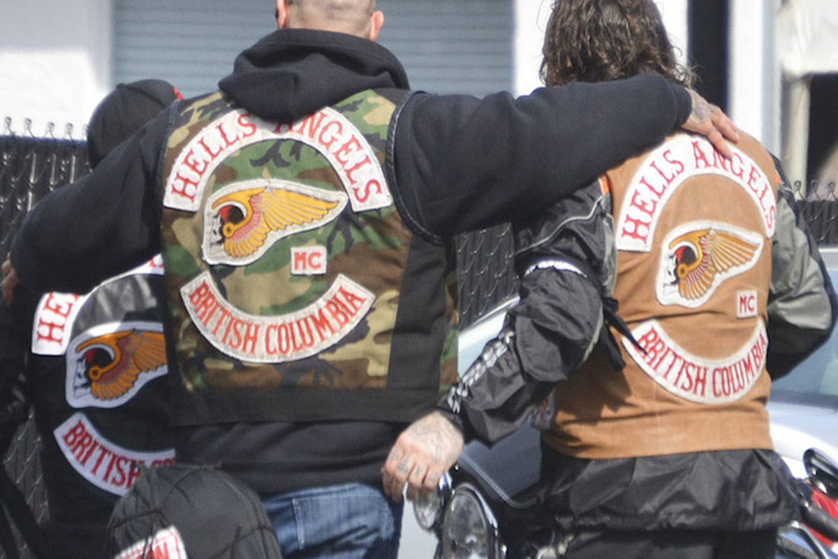 Hells Angels partied with strippers at Langley rec centre