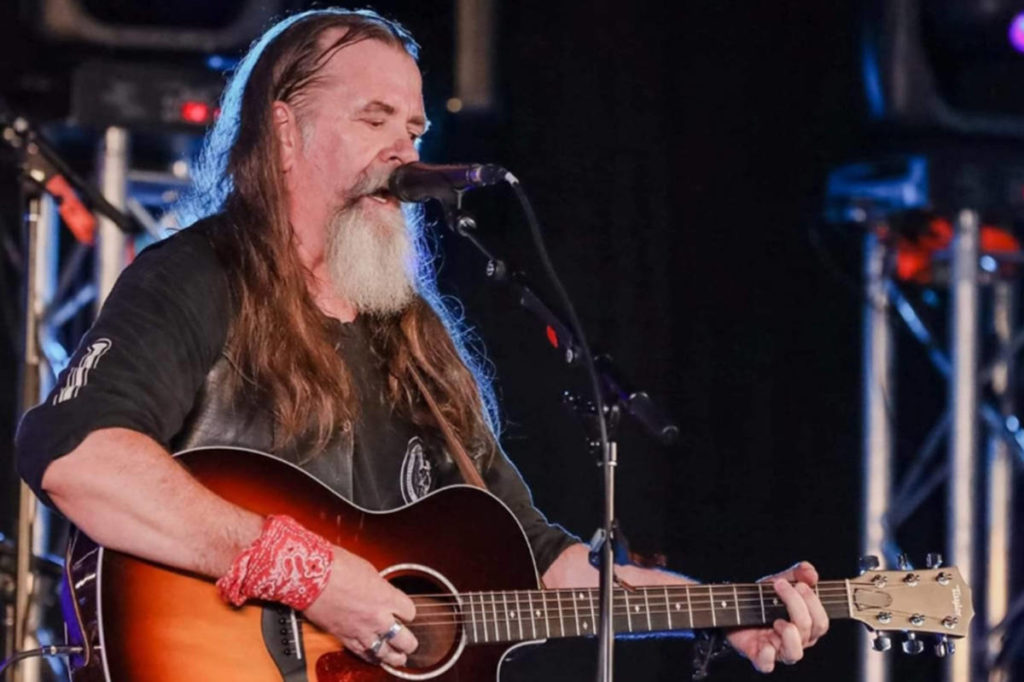 Country musician Duane Watson takes the stage at Gabby's on Sept. 26. (Duane Watson/Langley Advance Times)