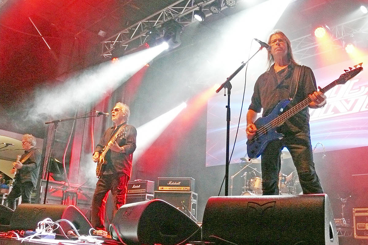 April Wine closed out day two of the Summerset Music and Arts Festival at historic Fort Langley. (Dan Ferguson/Langley Advance Times)