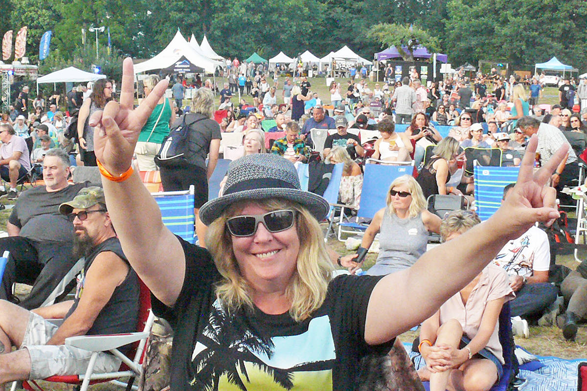 Organizers estimates turnout doubled for day two of the Summerset Music and Arts Festival at historic Fort Langley. (Dan Ferguson/Langley Advance Times)