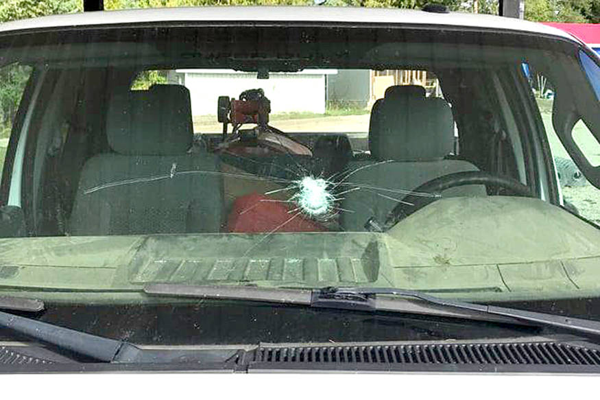 B.C. man in hospital after baseball thrown at windshield while driving