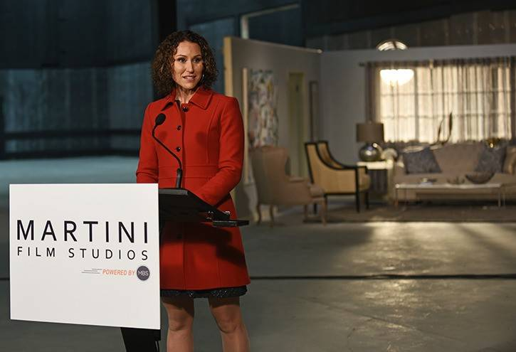 Gemma Martini, Founder and CEO of Martini Film Studios, has announced plans to build a new 600,000 sq. ft. facility in Langley (Langley Advance Times file photo)