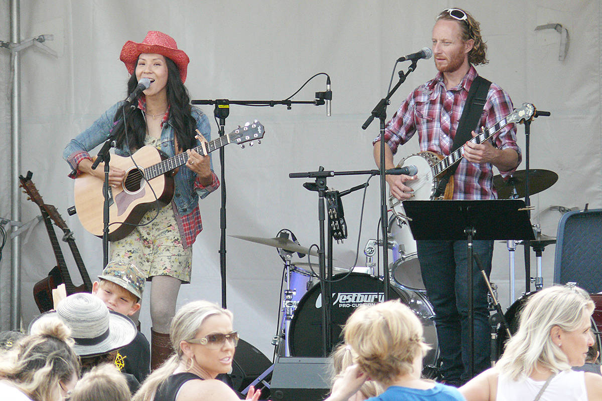 Live music fans had plenty to choose from at the Country Celebration in Campbell Valley Regional Park. (Dan Ferguson/Langley Advance Times)