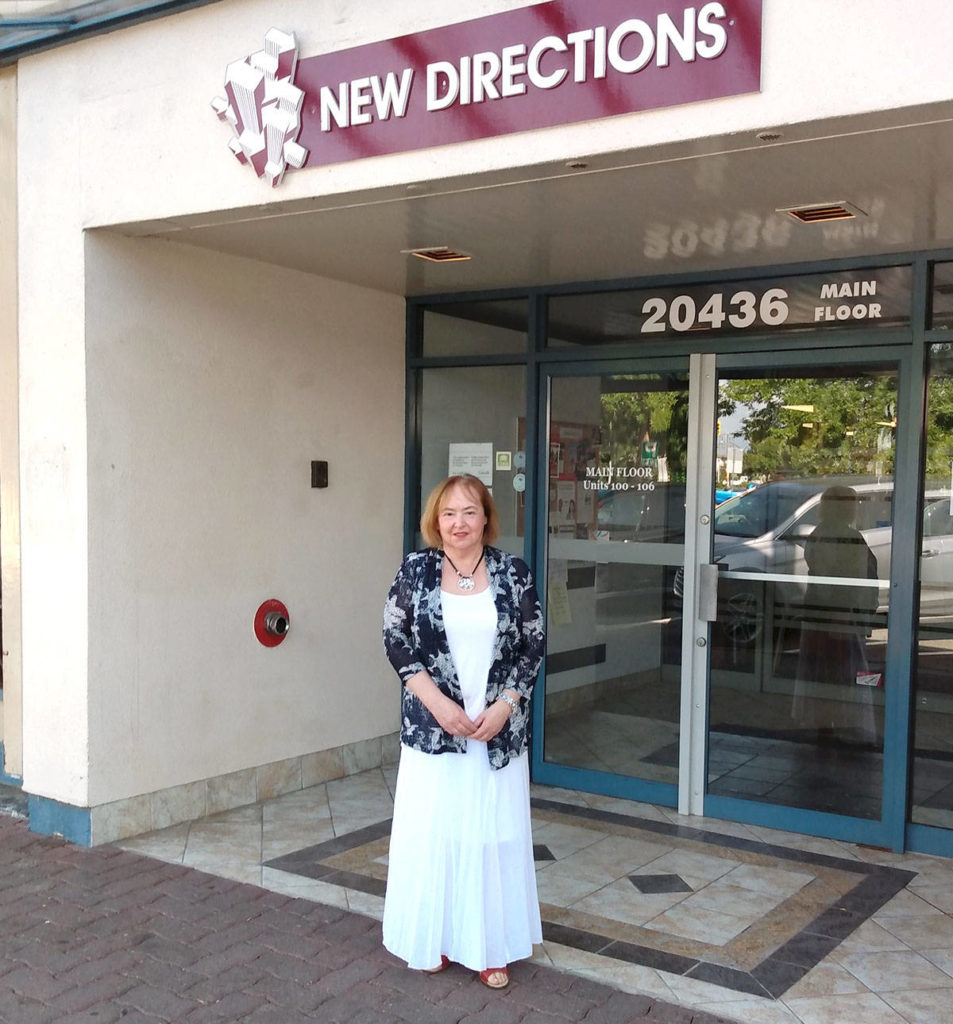 Yvonne Hopp founded New Directions nearly 30 years ago. She started the program in her backyard with just two employees. (Special to the Langley Advance Times)