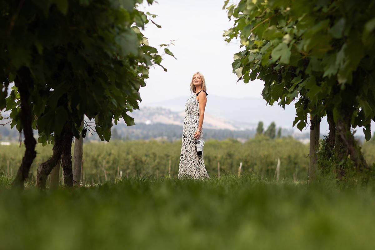 Sandhill Winery's winemaker Sandy Leier