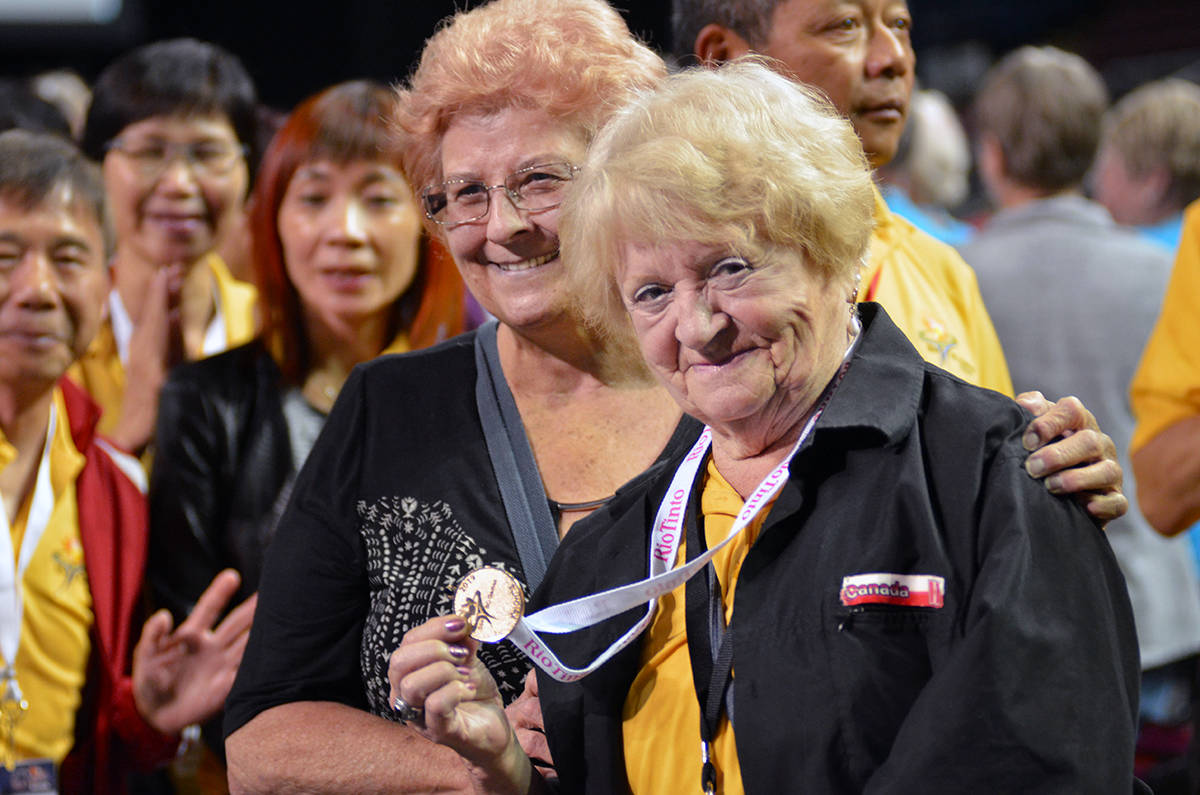 The 2019 55+ BC Games kicked off in Kelowna on Wednesday, Sept. 11, 2019. (Ashley Wadhwani - Black Press Media)
