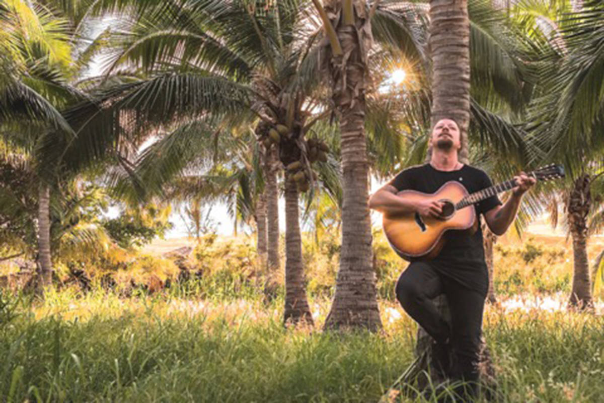 Vancouver-based beach rocker Daniel Wesley releases album, Beach Music, and stops by Chief Sepass Theatre on Friday, Sept. 27. (Rock.It.Boy Entertainment/Special to the Langley Advance Times)
