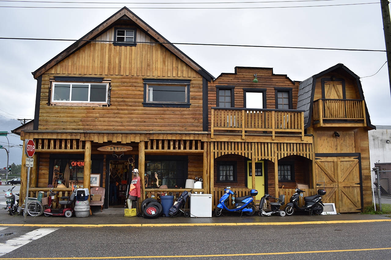 Agassiz's Pioneer Trading Post has been ordered to pay $3,397.13 to the former owner of a vintage accordion after a judge found their interest rate was the equivalent of 300 per cent a year. (Grace Kennedy/The Observer)