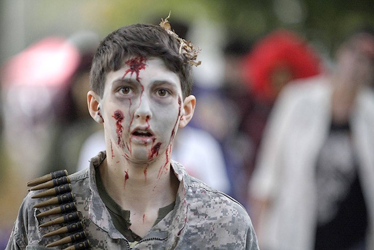 Fort Langley National Historic Site offers a ticketed Survivalist's Guide to a Zombie Apocalypse event Sept. 28. (Parks Canada/Special to the Langley Advance Times)