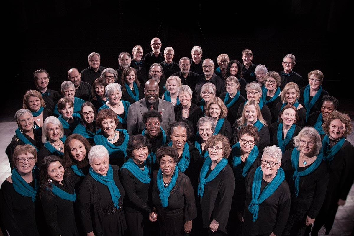 Bez Arts Hub presents The Marcus Mosely Ensemble, a Vancouver-based gospel choir, on Oct. 4. (Marcus Mosely Ensemble/Special to the Langley Advance Times)