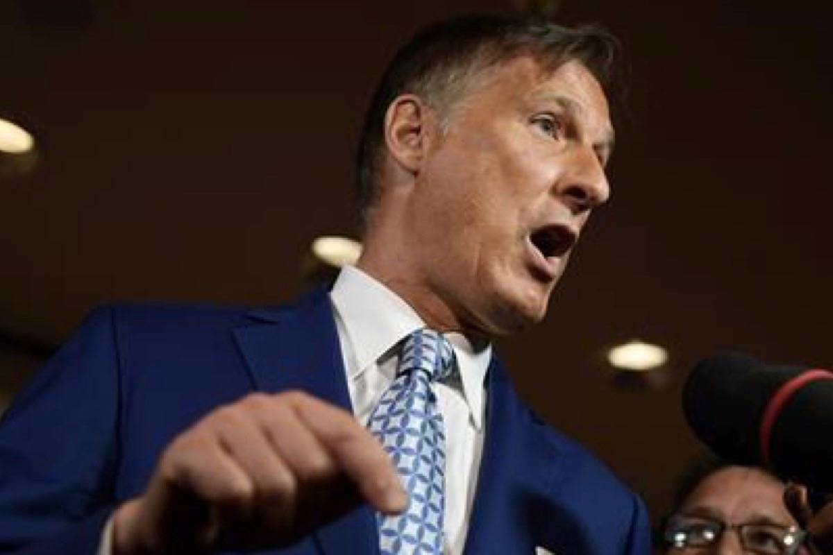 People's Party of Canada Leader Maxime Bernier invited to two broadcast debates