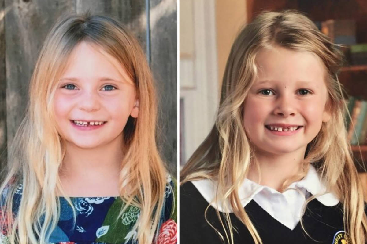 Sisters 4-year-old Aubrey Berry and 6-year-old Chloe Berry were found dead in their father's apartment in Oak Bay on Christmas Day. Their father Andrew Berry is charged with two counts of second-degree murder in their deaths. On Tuesday, defence counsel began to deliver its closing arguments. (Submitted photo)