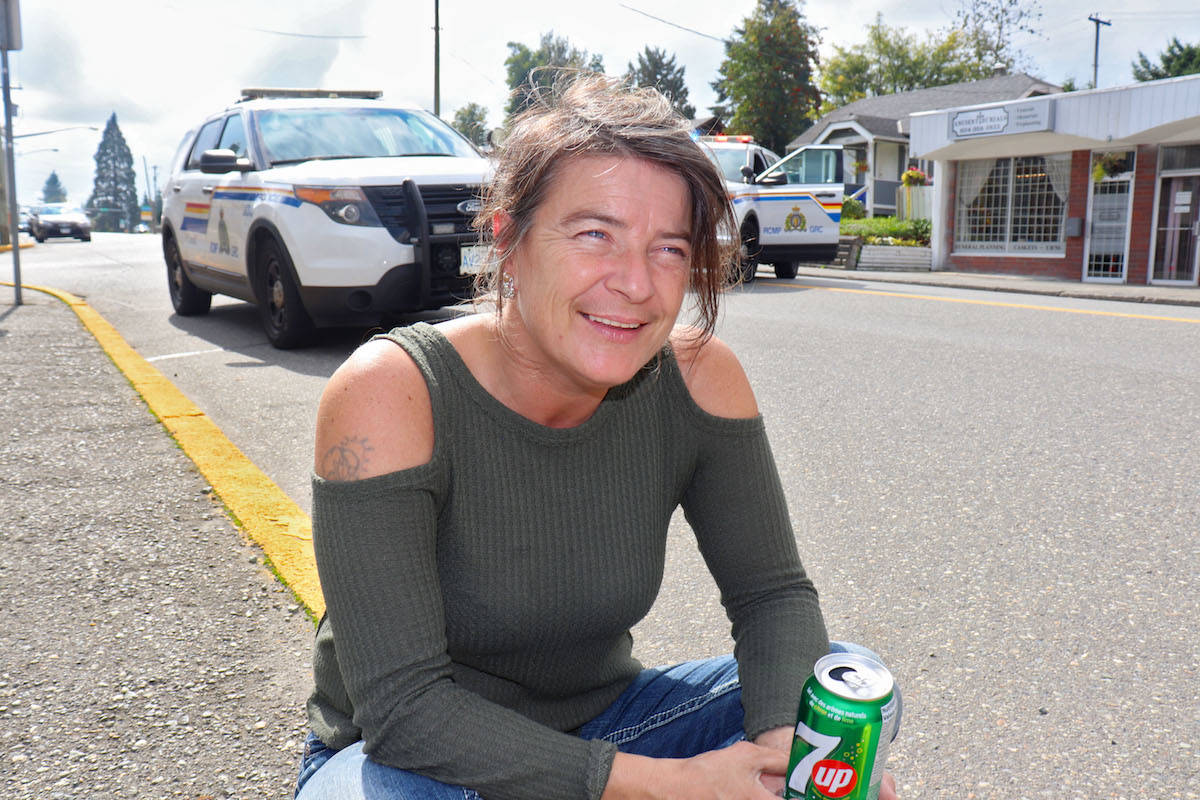 Serina Wright was alerted to plumes of black smoke rising from the inn and called 9-1-1, as well as evacuated the ground-level of the hotel. (Sarah Grochowski/Aldergrove Star)