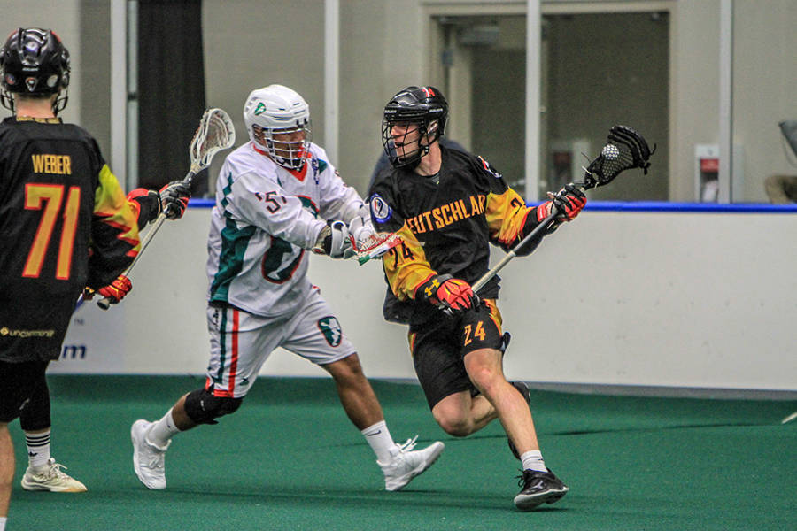 Canada continues to win at world indoor lacrosse championships in Langley