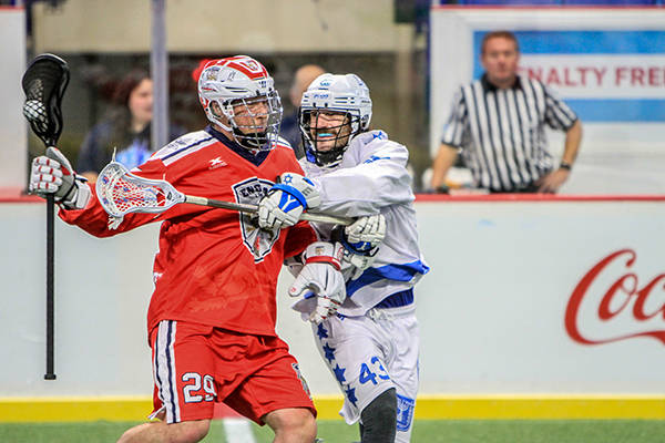 VIDEO: A moment to remember during day three of the World Lacrosse Men's Indoor Championship