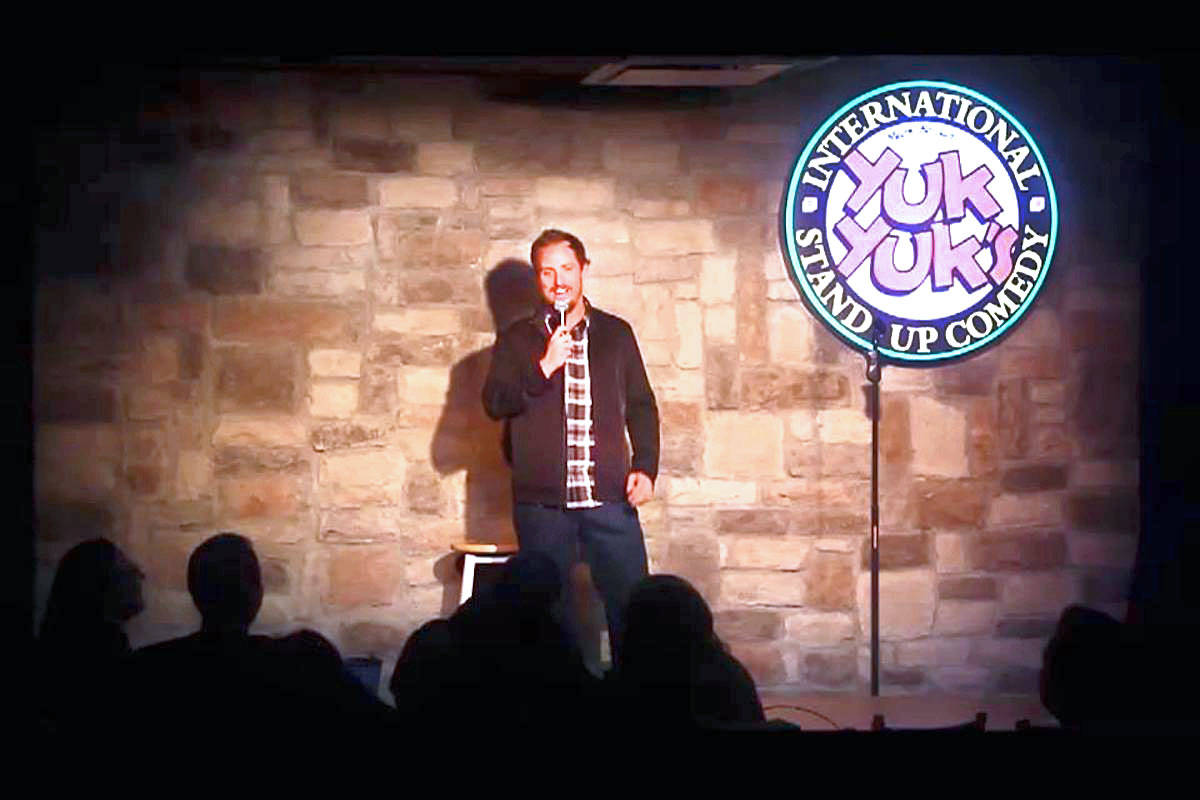 Canadian Brett Martin (pictured) will headline a three-person comedy showcase on Saturday (Sept. 28) at Aldergrove's Royal Canadian Legion.(Submitted photo)