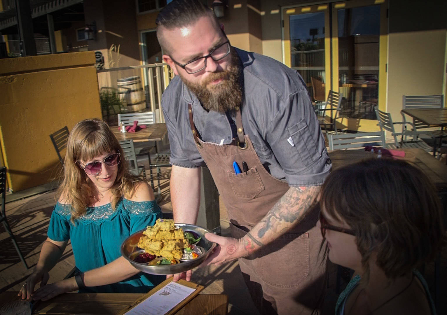 At The Bear, The Fish, The Root and The Berry, Chef Murray McDonald serves contemporary versions of Indigenous recipes. Nicolas Amaya photo
