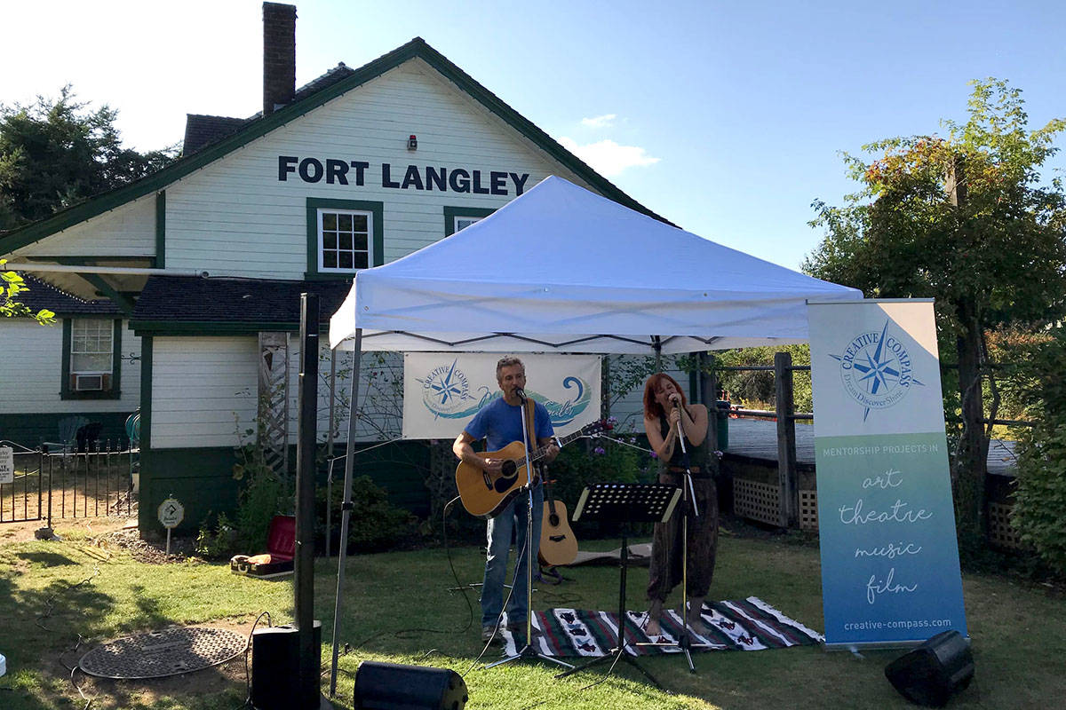 Creative Compass Society hosts Myles of Smiles open mic Sunday, Sept. 29 as part of B.C. Culture Days. (Creative Compass/Special to the Langley Advance Times)