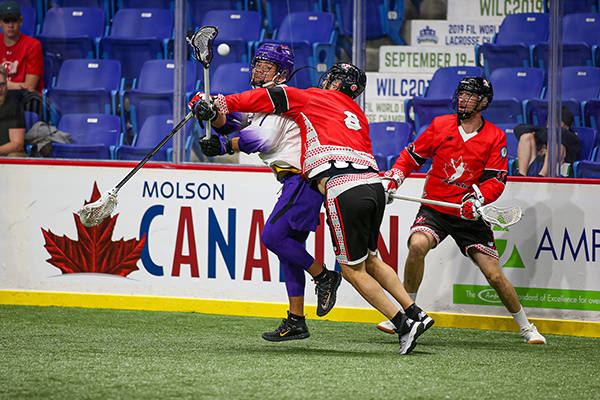 VIDEO: Canada to play for gold at world indoor lacrosse championship in Langley