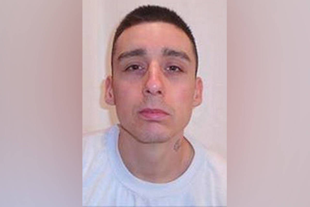 Zachary Armitage, 30, is one of two William Head Institution inmates who escaped from the prison in July. He has plead guilty to escape from lawful custody and awaits sentencing in Mountain Institution. (Correctional Service of Canada/Facebook)