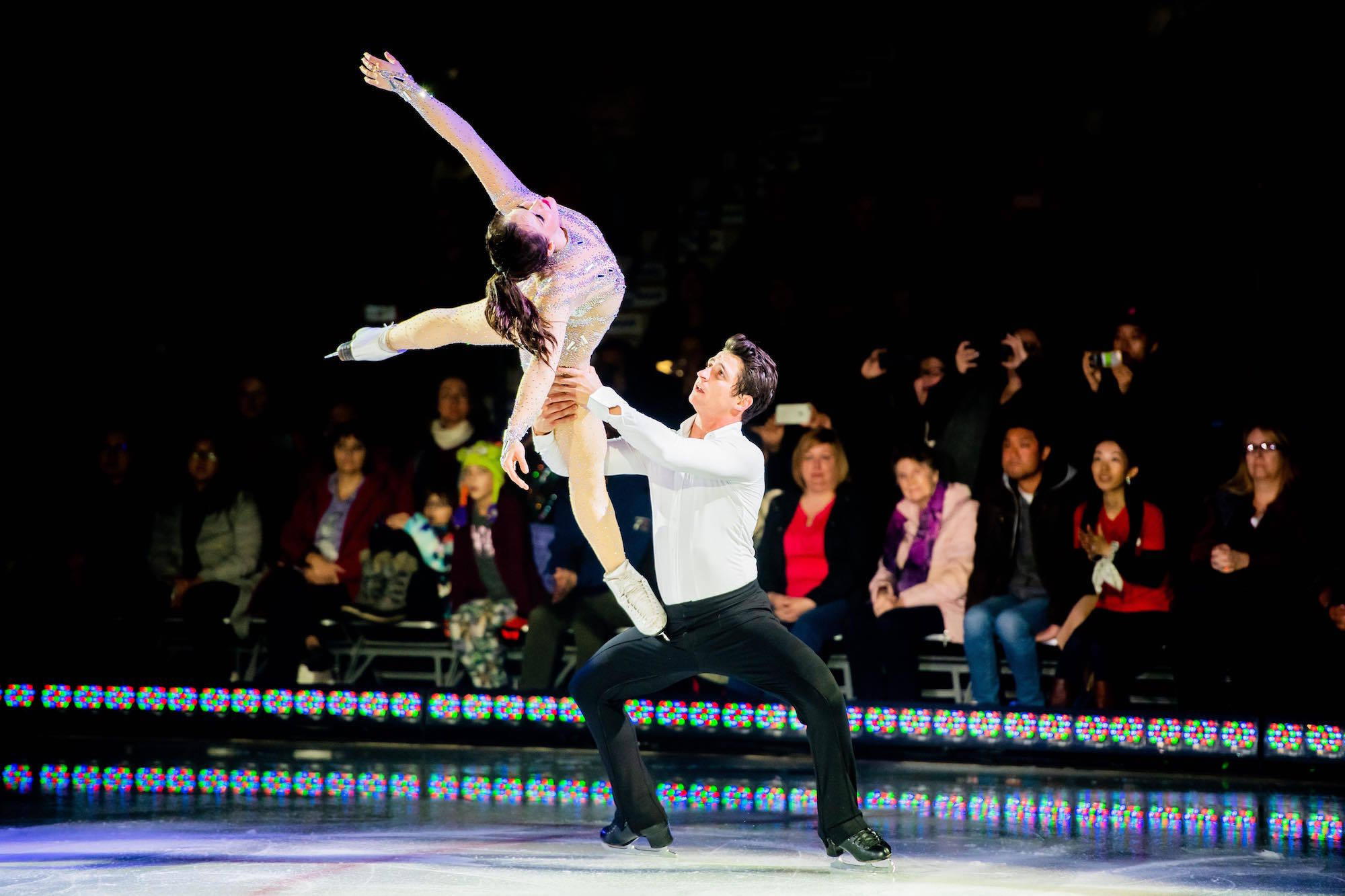 Canadian figure skating champions Tessa Virtue and Scott Moir come to Penticton Oct. 6 with the Rock the Rink tour. This will be the pair's last tour as they have announced they are retiring from the world of competitive figure skating. (Contributed)