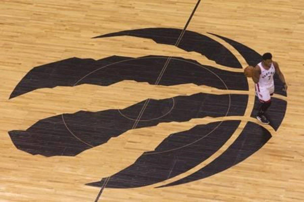 The Toronto Raptors will host their training camp for the new NBA season in Quebec City. (Photo by THE CANADIAN PRESS)