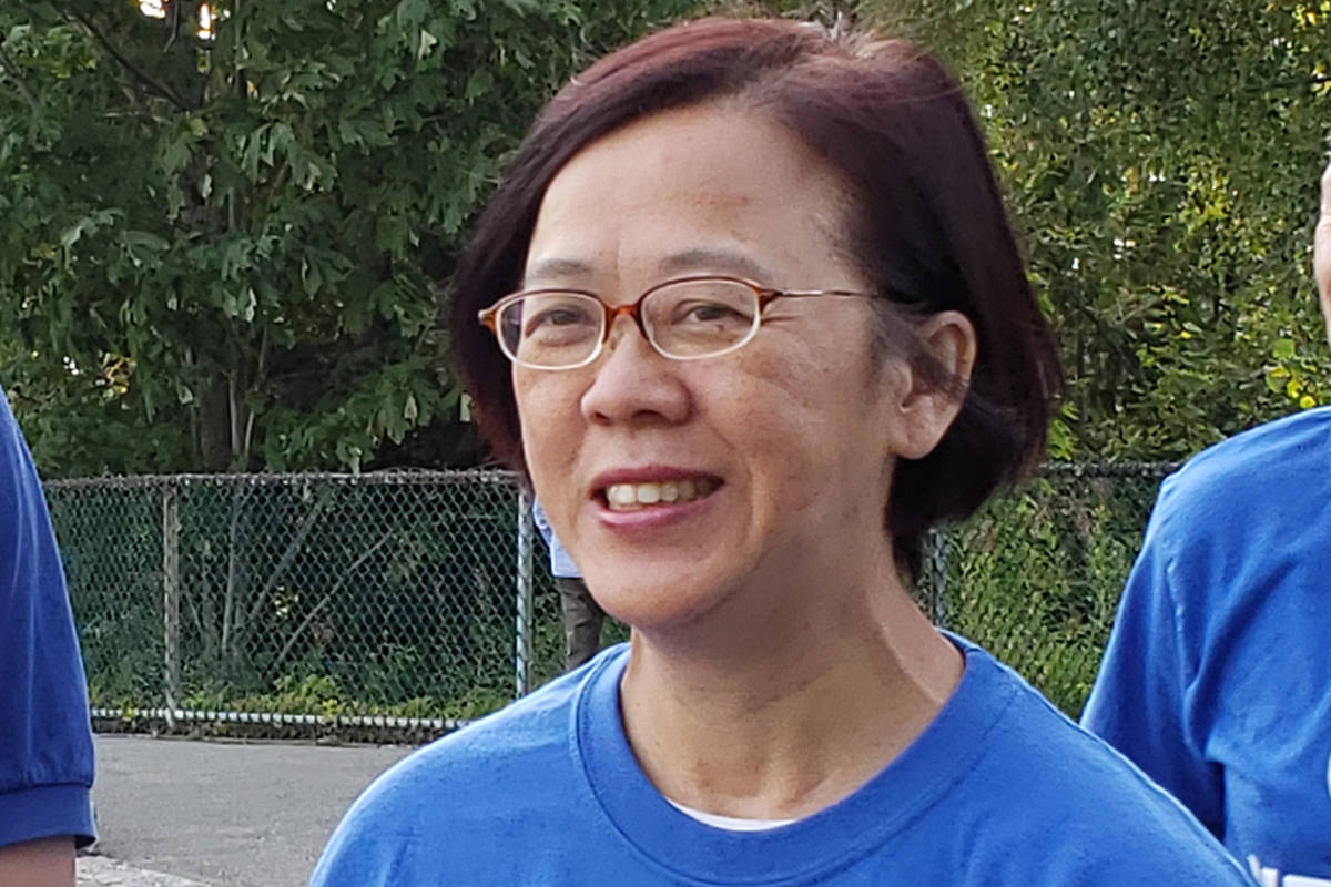 Conservative candidate Heather Leung in the Burnaby North–Seymour riding (HeatherLeung.com)