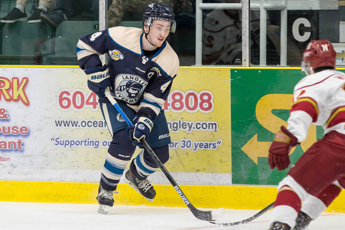 VIDEO: A big come-from-behind-win for Langley Rivermen