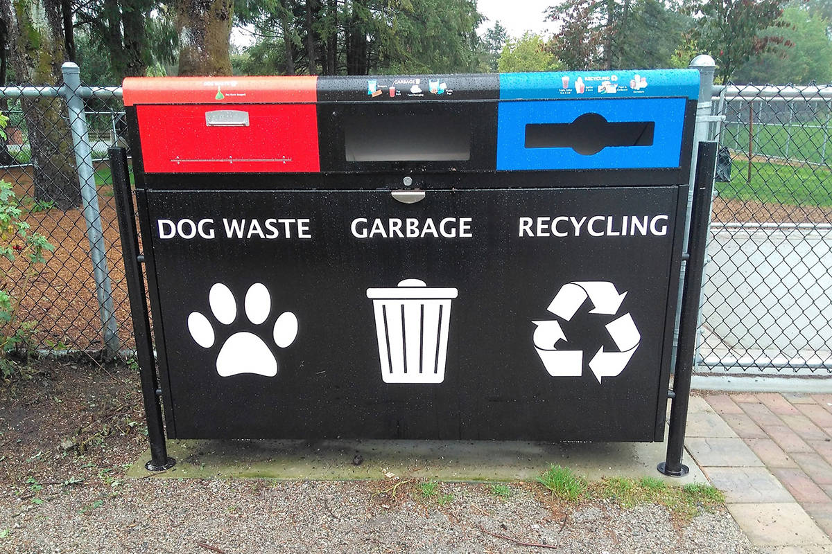 Public Spaces Waste Management Program is meant to prevent littering and reduce what goes into landfills by accommodating many types of waste.