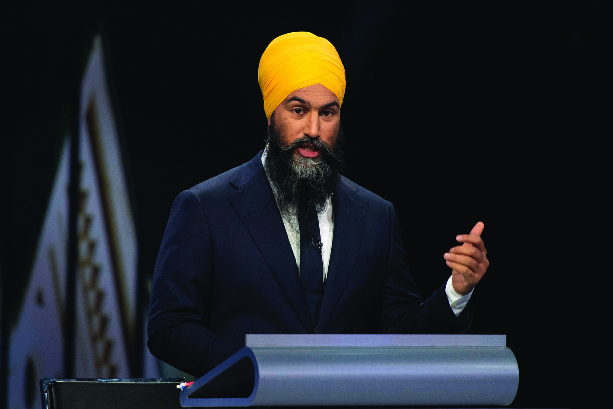 Singh's stance on Bill 21 called out by anti-hate group