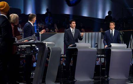 Final debate behind them, federal leaders begin sprints to Oct. 21 voting day