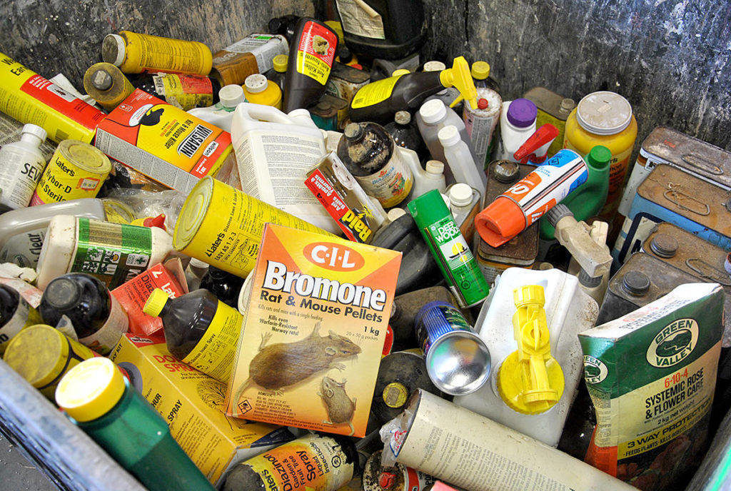 On Saturday and Sunday, Oct. 26th and 27th, the Township of Langley and Langley City will team up to present the annual Household Hazardous Waste Plus Collection Event. (File)