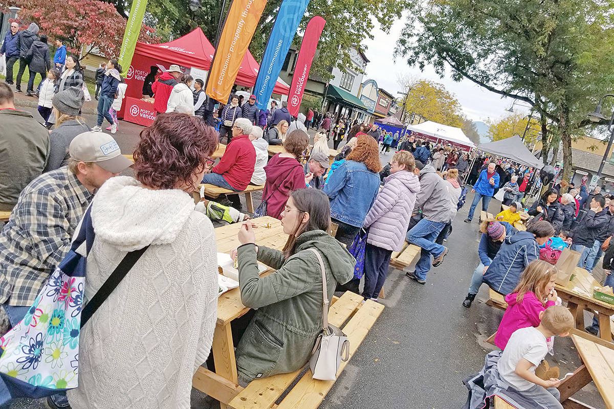 VIDEO: Fort Langley Cranberry Festival rated a 'huge success'