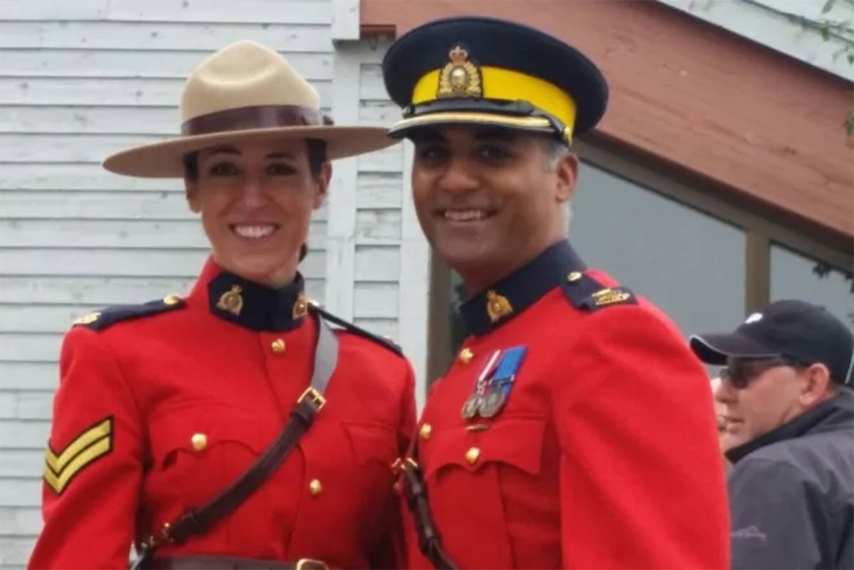 Cpl. Tammy Hollingsworth and Insp. Sukhjit Manj were suspended from the RCMP in September 2017. Hollingsworth has filed a lawsuit against the RCMP for malicious prosecution after she was cleared of wrongdoing in a conduct hearing. (Manj family)