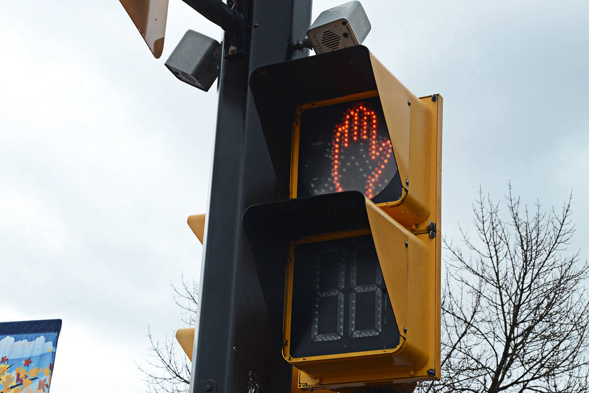 How many pedestrians have been hit by cars in Langley in recent years? (Matthew Claxton/Langley Advance Times)