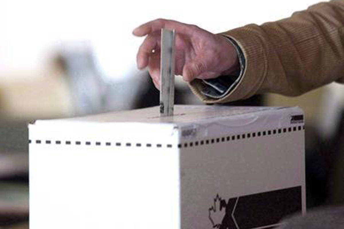 Casting a ballot on Oct. 21 requires one clear single mark next to a candidate name. (Langley Advance Times files)