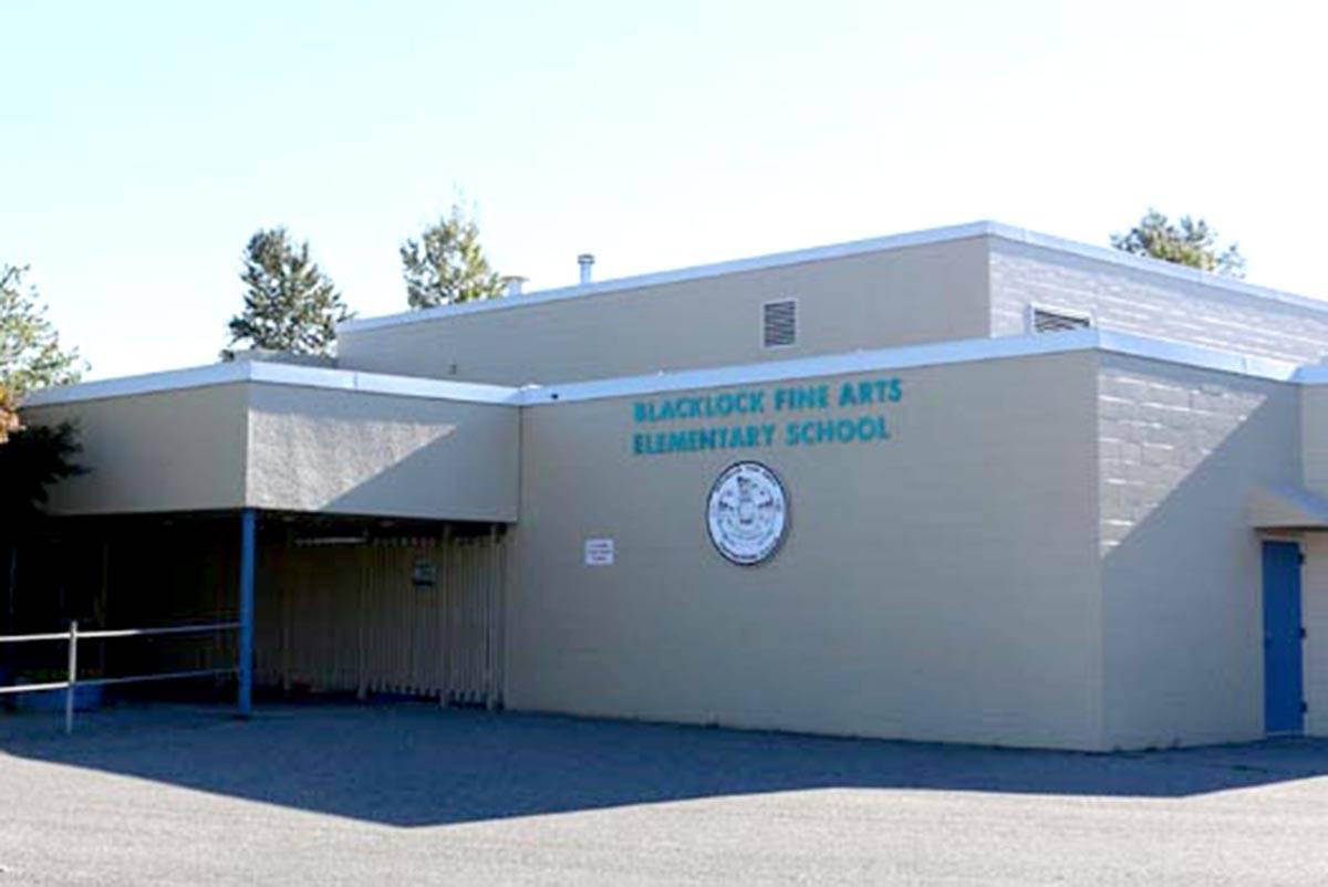 Blacklock Fine Arts Elementary School is one of the Cloverdale-Langley City polling station for the federal election, Oct. 21. (Langley School District/Special to the Langley Advance Times)
